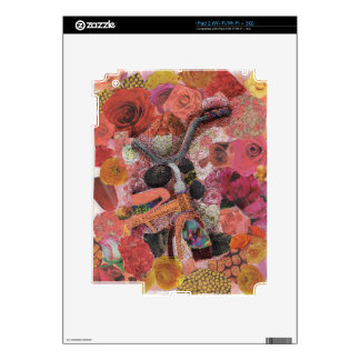 Pedal through Petals Decals For The iPad 2