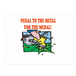 Pedal To The Medal 2 Postcard