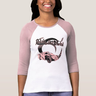 Pedal to the Metal Dirt Modified Pink T-Shirt