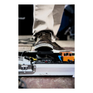 pedalboard poster