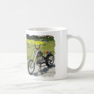 PedalChopper Wide Ride Motorized Bicycle Classic White Coffee Mug