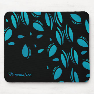 Pedales azules con clase tapete de raton