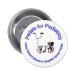 Pedales para el Pin de la pediatría