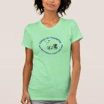 Pedales para la pediatría - la camiseta media de