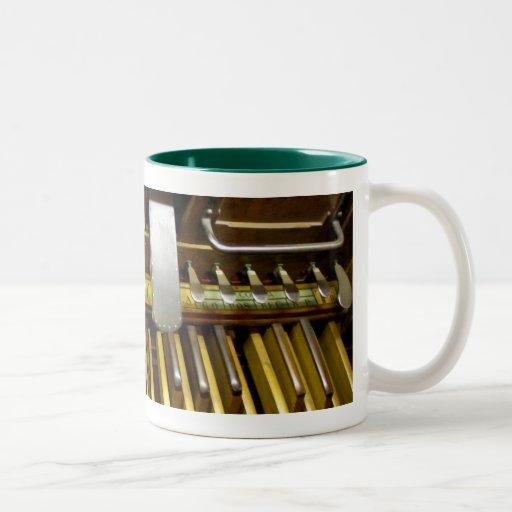 Pedals mug - French