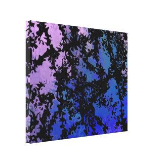 Pedazo abstracto afortunado 7,23 impresión en lona estirada