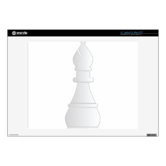 Pedazo de ajedrez blanco del obispo 35,6cm portátil calcomanía