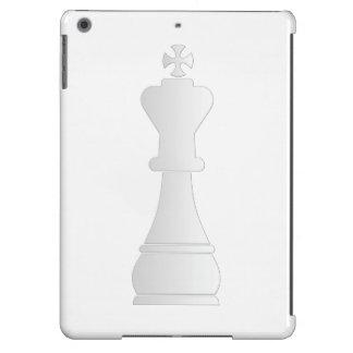 Pedazo de ajedrez blanco del rey