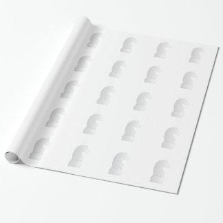 Pedazo de ajedrez del caballero blanco