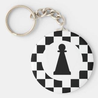 Pedazo de ajedrez del empeño - llavero - favores