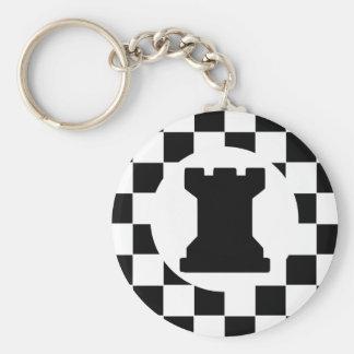 Pedazo de ajedrez del grajo - llavero - favores de