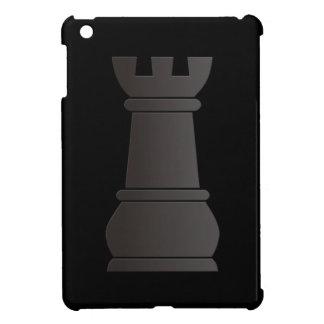 Pedazo de ajedrez negro de la roca iPad mini coberturas