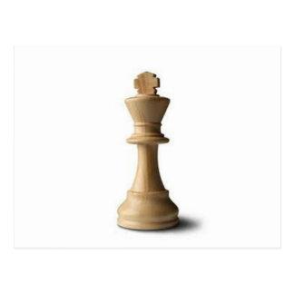 Pedazo de ajedrez postal