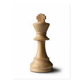 Pedazo de ajedrez tarjeta postal