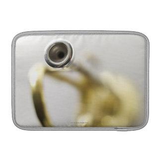 Pedazo de boca de la trompeta fundas MacBook