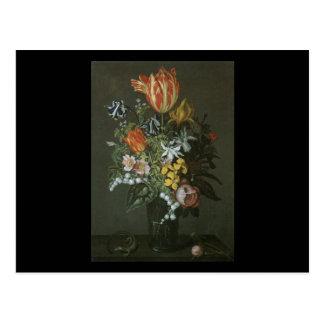 Pedazo de flor de Bosschaert Juan Postal
