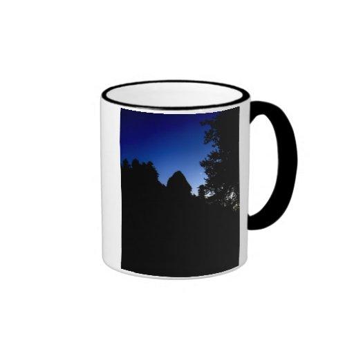 Pedazo de la luna taza de café
