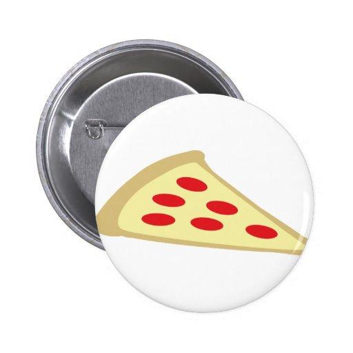 pedazo de pizza pin redondo 5 cm