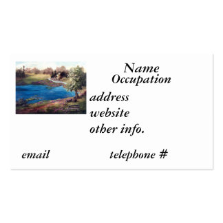 Pedazo de tarjeta de visita de Eden