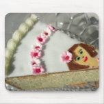 Pedazo de torta tapetes de ratón