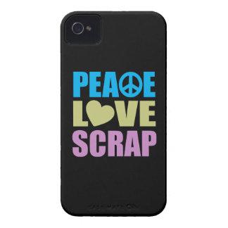 Pedazo del amor de la paz iPhone 4 coberturas