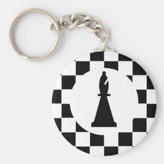 Pedazo del obispo ajedrez - llavero - favores de