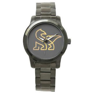 Pedazo del tiempo de los hombres tradicionales reloj