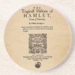 Pedazo delantero al cuarto de Hamlet (versión 1605 Posavaso Para Bebida
