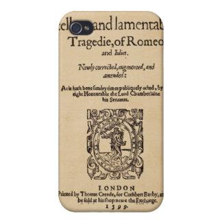 Pedazo delantero al cuarto de Romeo y de Juliet iPhone 4 Fundas