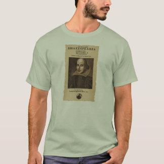 Pedazo delantero al primer folio de Shakespeare Playera