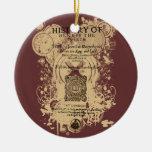 Pedazo delantero del cuarto de la parte I del Enri Ornamentos Para Reyes Magos