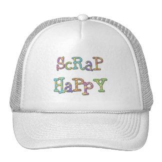 Pedazo feliz gorras de camionero