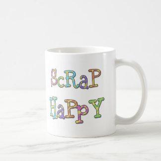 Pedazo feliz taza