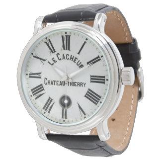 Pedazo francés del tiempo del vintage reloj de mano