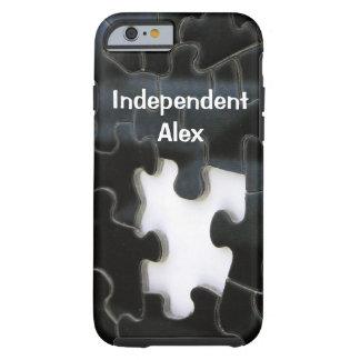 Pedazo que falta del rompecabezas funda para iPhone 6 tough