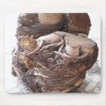 Pedazo r de la demostración del corte del árbol tapetes de raton