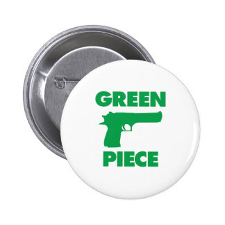 Pedazo verde pins