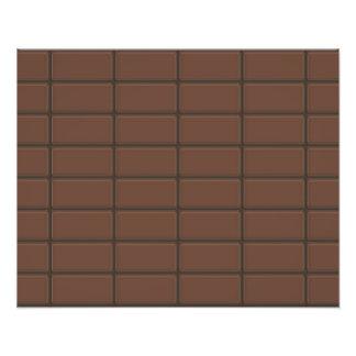 Pedazos de la barra de chocolate fotografías