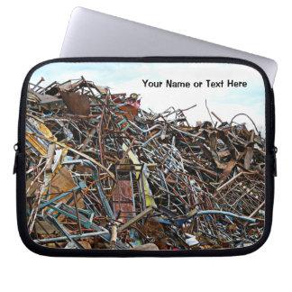 Pedazos de la chatarra de desperdicios manga computadora