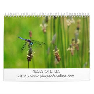 PEDAZOS de la flora y de la fauna 2016 de E Calendarios