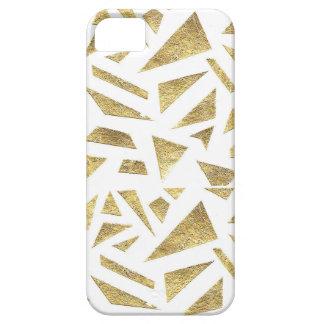 Pedazos de oro iPhone 5 Case-Mate cárcasa