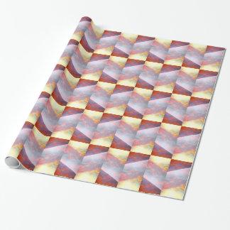 Pedazos de papel de regalo del cielo