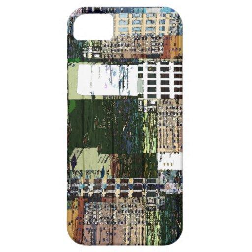Pedazos de una ciudad iPhone 5 Case-Mate carcasa