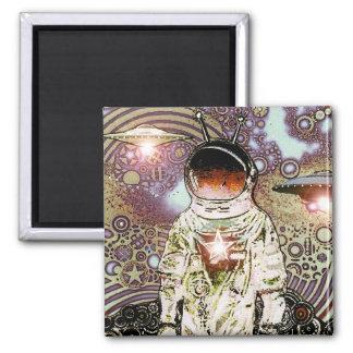 Pedazos del espacio - astronauta V MagNEAT-O Imán