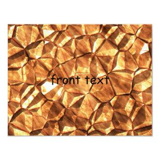 Pedazos del fondo de las pepitas de oro comunicado personal