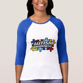 Pedazos del rompecabezas de la conciencia del camisetas