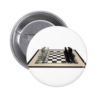 Pedazos del tablero de ajedrez y de ajedrez: pin