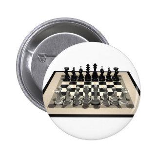 Pedazos del tablero de ajedrez y de ajedrez: pins
