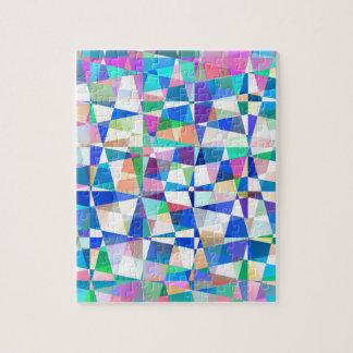 Pedazos en colores pastel puzzle con fotos