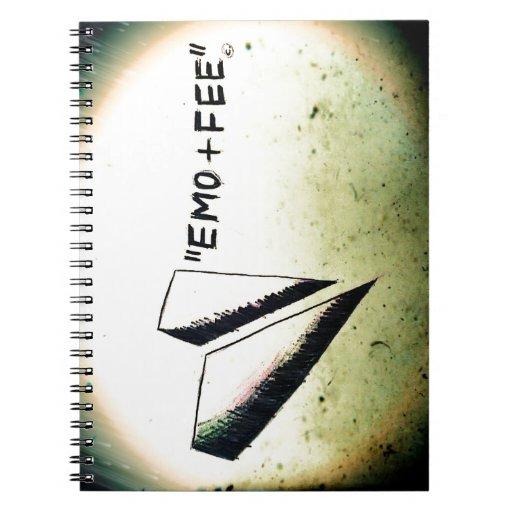 pedazos y sacudidas, regalos etc. libro de apuntes con espiral